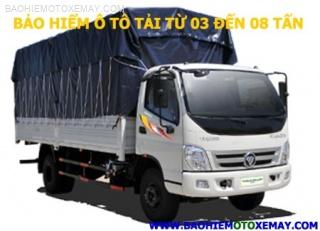 Bảo hiểm xe ô tô tải từ 03 đến 08 tấn | Chiết khấu 30